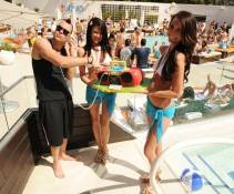 Mark Salling hosts Liquid Pool Lounge at Aria.