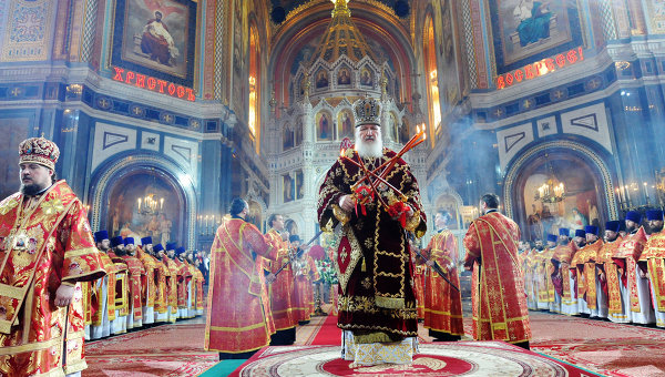 Moscow Easter Festival in Full Swing Across the Nation