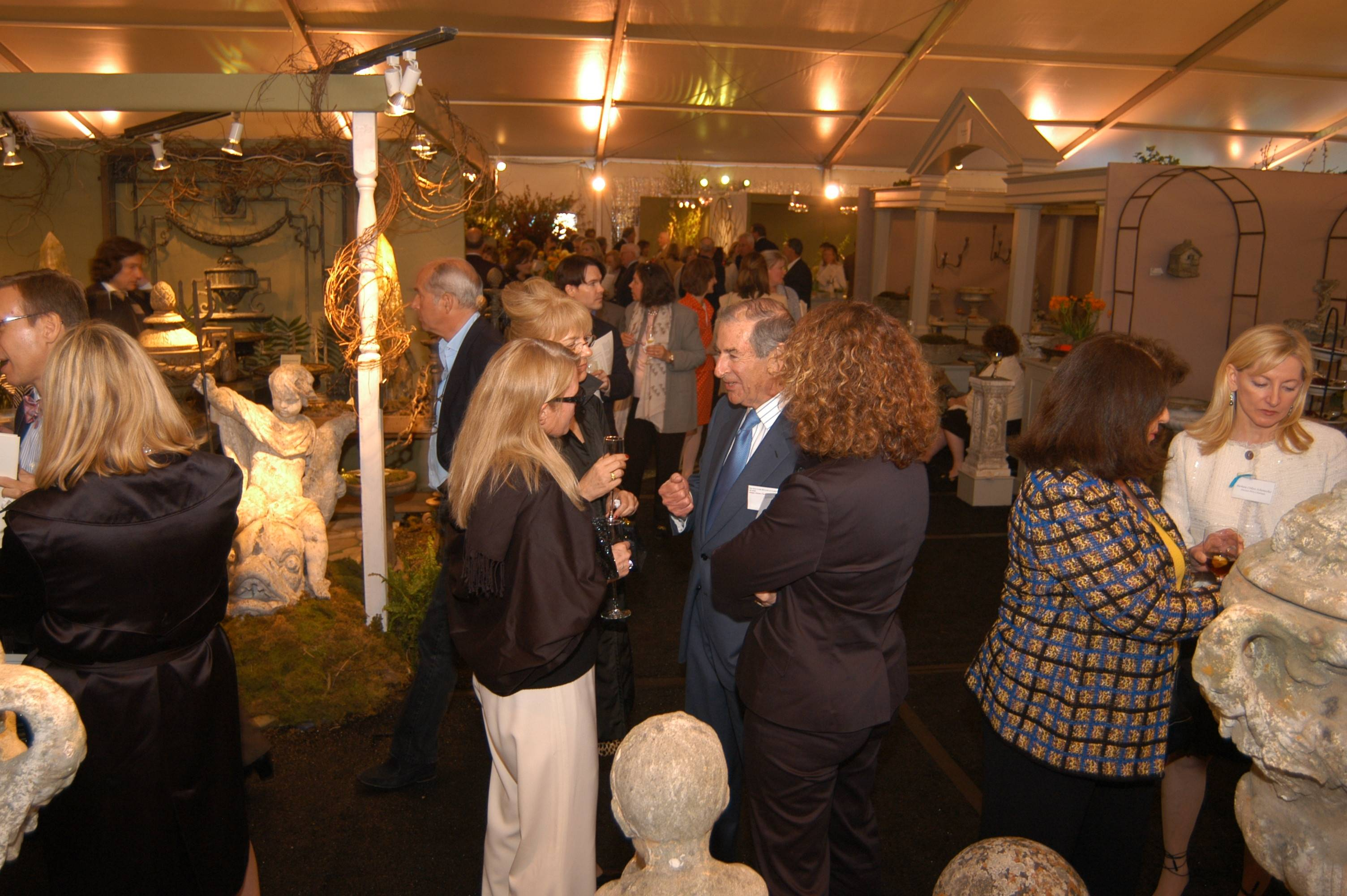 Haute Event Preview: The 20th Anniversary Antique Garden Furniture Show Preview Party