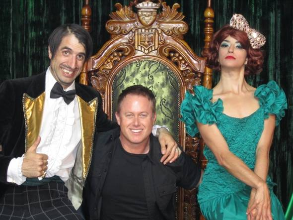 Haute Event: The Cast of Dancing with the Stars: Live Visits Absinthe