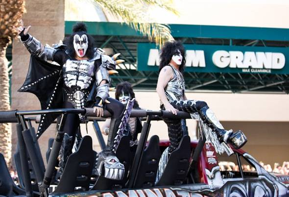 Haute Event: KISS Arrives at the Academy of Country Music Awards