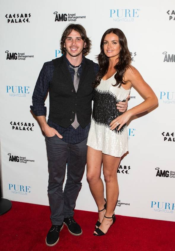 Haute Event: The Bachelor's Ben Flajnik and Courtney Robertson Host at Pure Nightclub