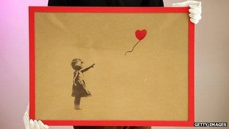 Collection Of Graffiti Artist Banksy's Work Auctions For $639,000 In London