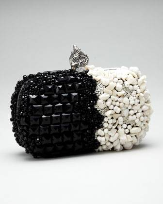 Haute Couture: Alexander McQueen Punk Shell Box Clutch