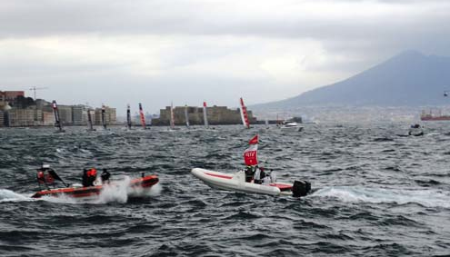 Olivia Hsu Decker: 34th America's Cup World Series Round 4, Naples Italy