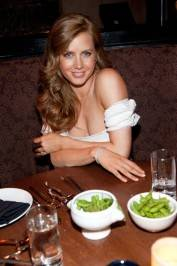 Amy Adams dines at Tao.