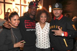 Angela Yee, Paypa, Amanda Seales and Bad Boy artist French Montana