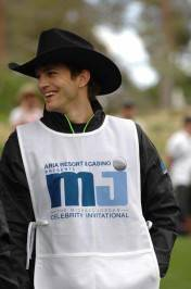 Ashton Kutcher as Michael Jordan's caddy.