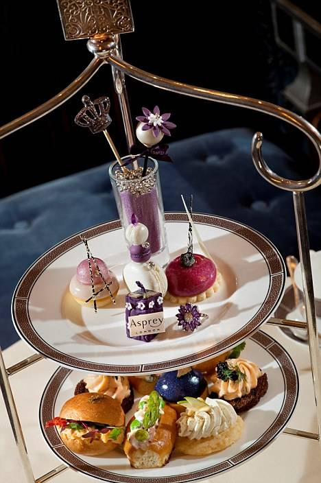 Langham Hotel and Asprey Launch Jeweled Jubilee Tea for Diamond Jubilee