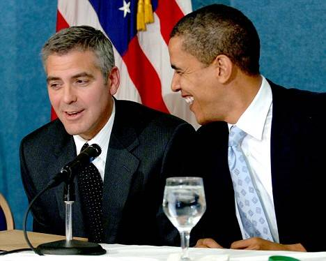 George Clooney to Host $40,000-a-head Obama Fundraiser at Los Angeles Home