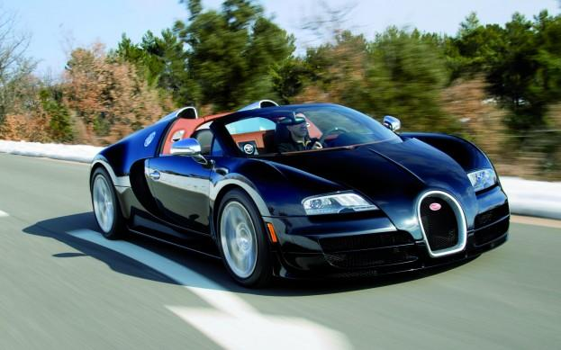 World's Fastest Roadster, Bugatti Veyron Grand Sport Vitesse, Unveiled In Geneva