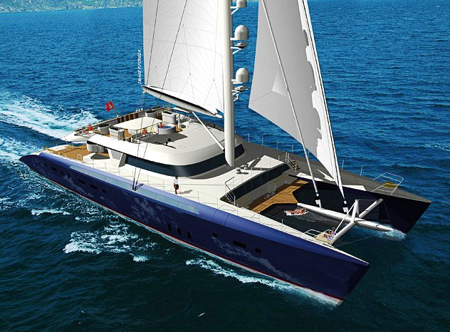 "World's Largest Sailing Catamaran up for Auction at Christie's ""Bid to Save the Earth"""