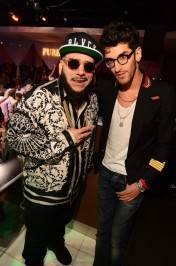 Chromeo: P-Thugg, left, and Dave 1 at PURE Nightclub.