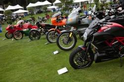 Ducati motorcycles at The Quail_courtesy of Steve Burton