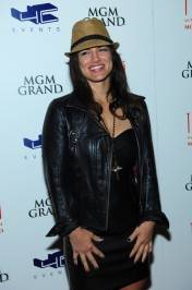 Gina Carano-Carpet-Tabu Ultra Lounge 4.21.12