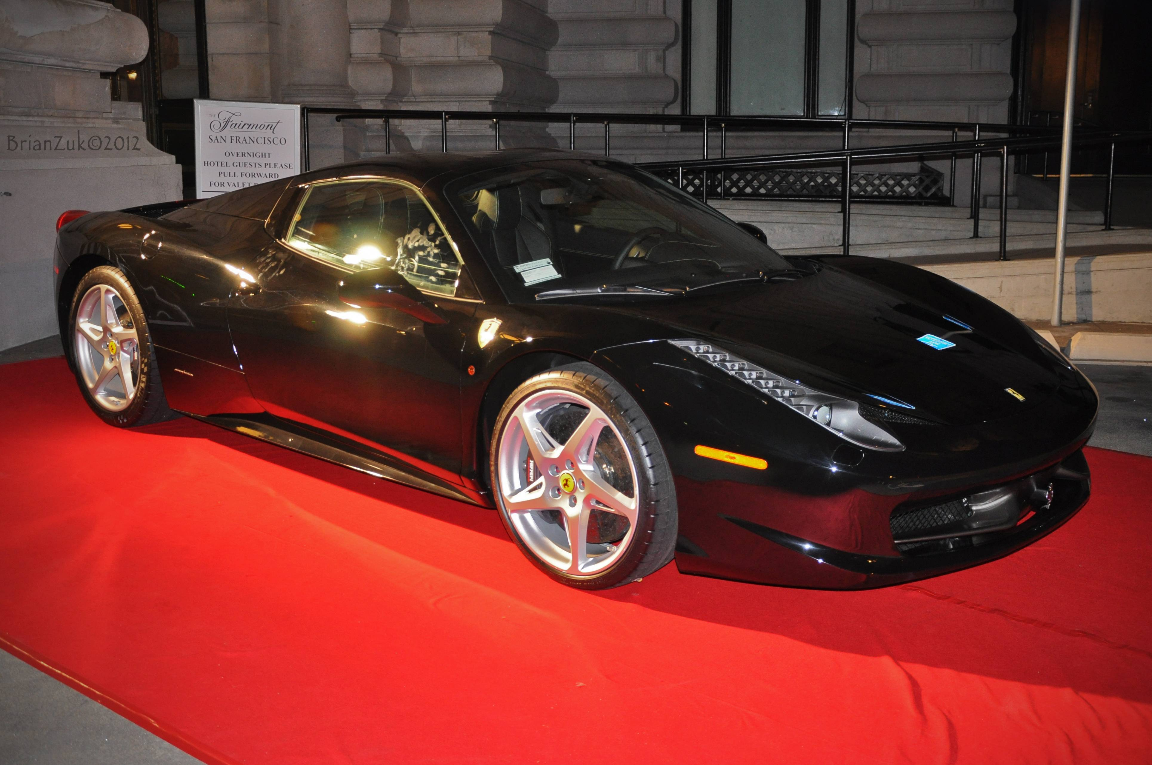 Haute Event – Ferrari SF launch party for 458 Spyder at Fairmount Hotel