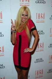 Jenna Jameson on the red carpet.