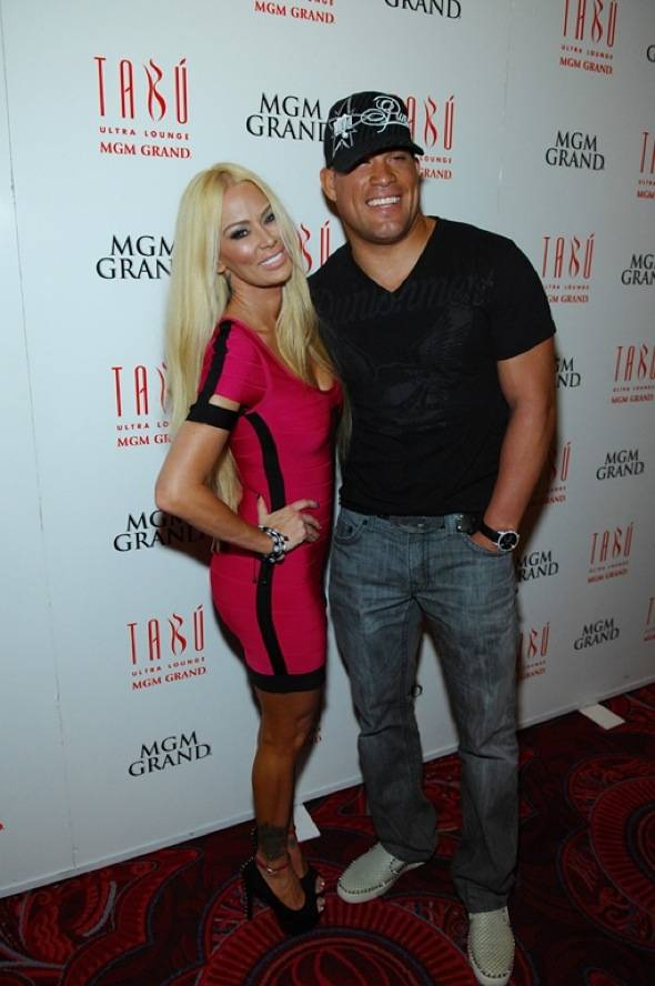 Jenna and Tito Ortiz Red Carpet at Tabú Ultra Lounge