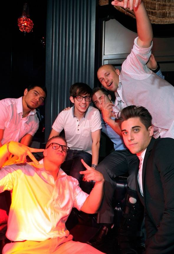 Haute Event: Kevin McHale Helps a Friend Celebrate His Bachelor Party at Sugar Factory, Chateau
