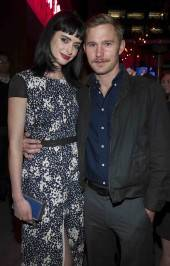 Actors Krysten Ritter and Brian Geraghty