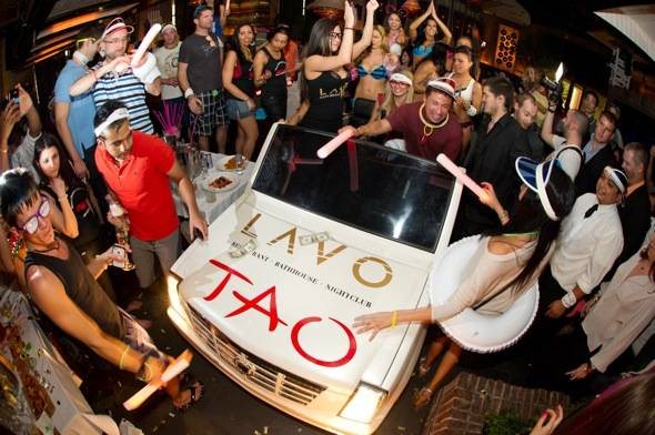 Angel Porrino hosts Lavo Brunch