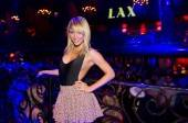 "TV personality Sara Underwood of G4TV's ""Attack of the Show"" hosts at LAX Nightclub."