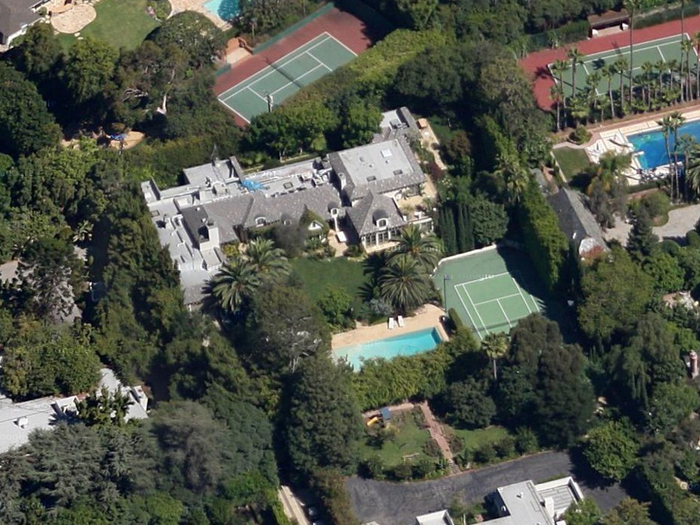 Beverly Hills Mansion owned by Madonna Listed for $28 Million