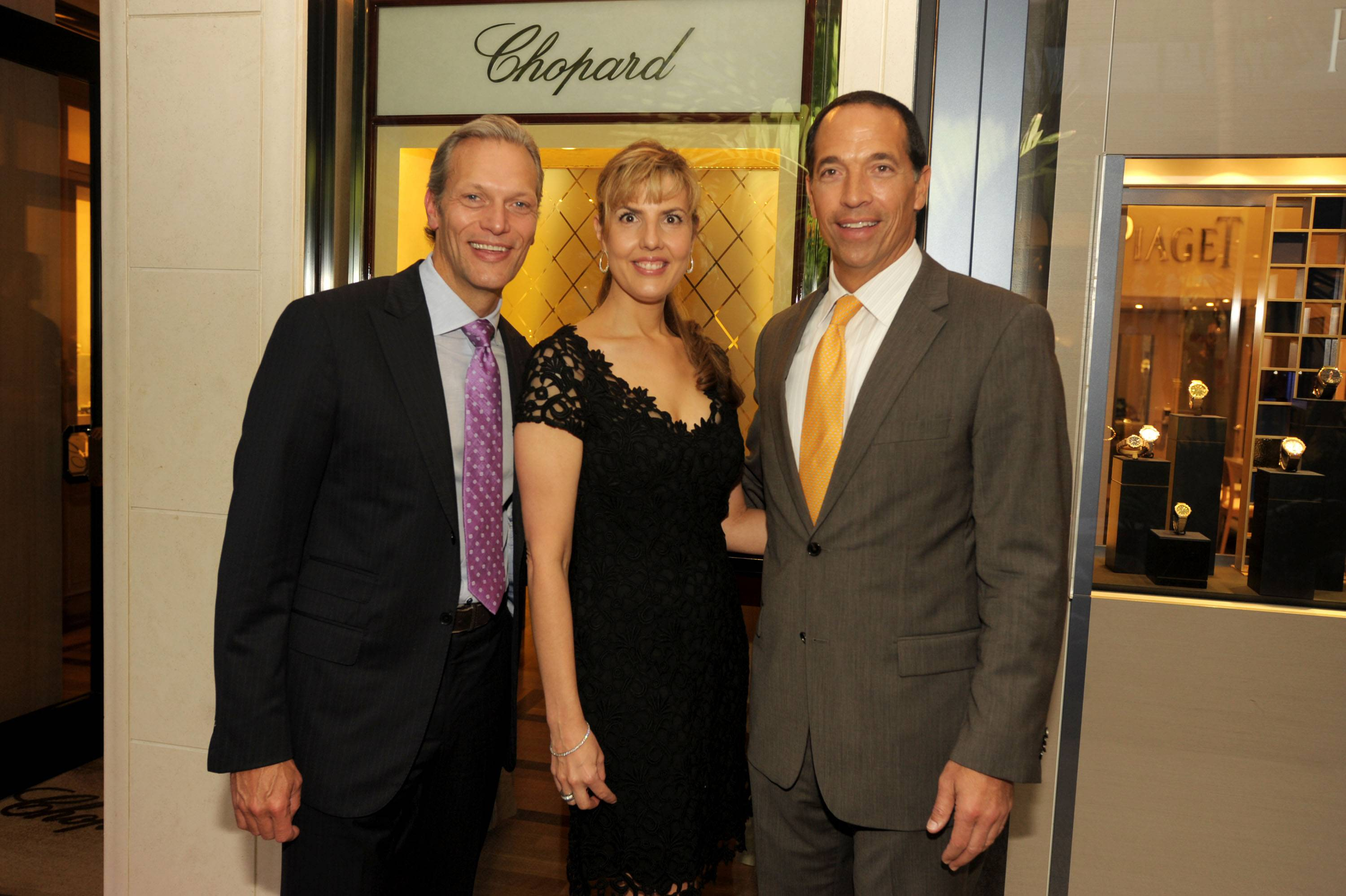 Grand Reopening of Chopard in Bal Harbour With Brand President Marc Hruschka