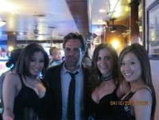 Mark Ruffalo poses with Golden Gate's Dancing Dealers.