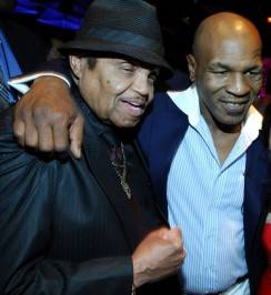 Joe Jackson and Mike Tyson