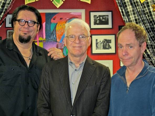 Celebrity Sighting: Steve Martin Checks Out Penn & Teller