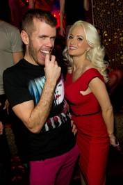 Perez Hilton and Holly Madison