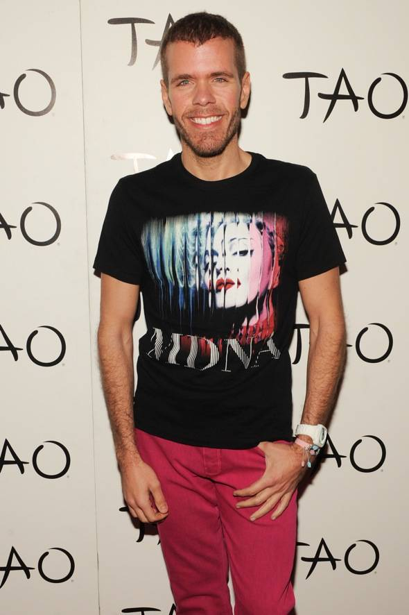 Online personality, Perez Hilton, celebrates his birthday at TAO