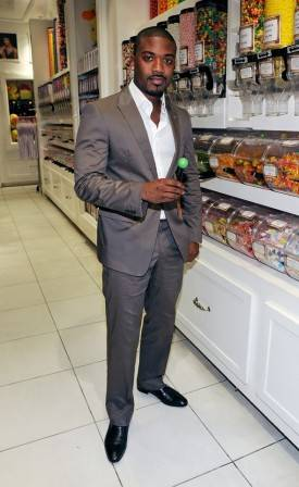 Ray J with a Signature Sugar Factory Couture Pop at Sugar Factory.