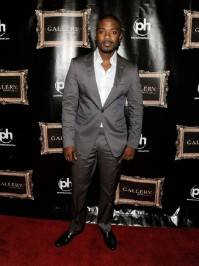 Ray J poses on the red carpet at Gallery Nightclub in Las Vegas.