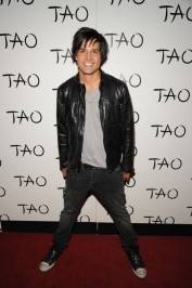 Ricardo Laguna on the red carpet at Tao.
