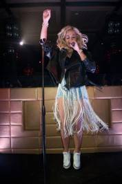 Rita Ora performs at Lavo.