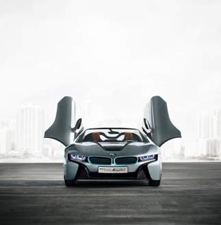 Haute Auto: BMW Introduces Plug-in Hybrid BMW i8 Concept Spyder