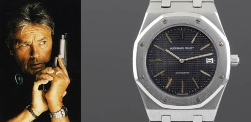 Haute Time: Alain Delon's Vintage Audemars Piguet Royal Oak Jumbo Sells For €68,750