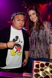 DJ Five and Shannon Elizabeth