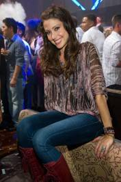"Actress Shannon Elizabeth, of ""American Reunion"" hosts at Tao."