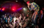 Hip-hop artist Tyga performs at Lavo Nightclub.
