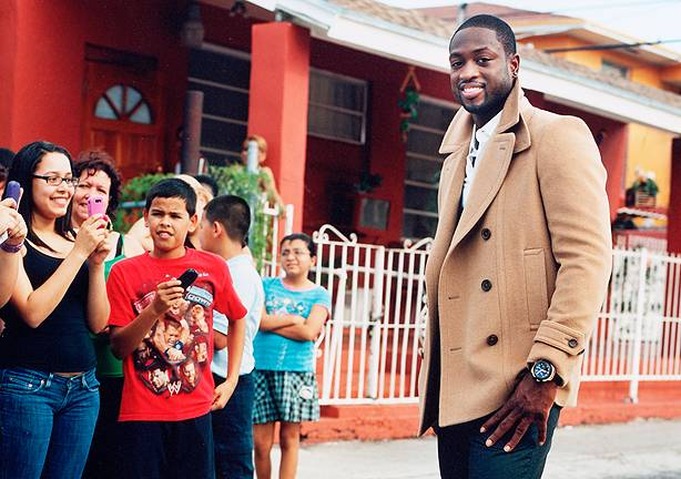 Haute 100 Miami Update: Dwyane Wade Promotes Reading to Kids in Chicago