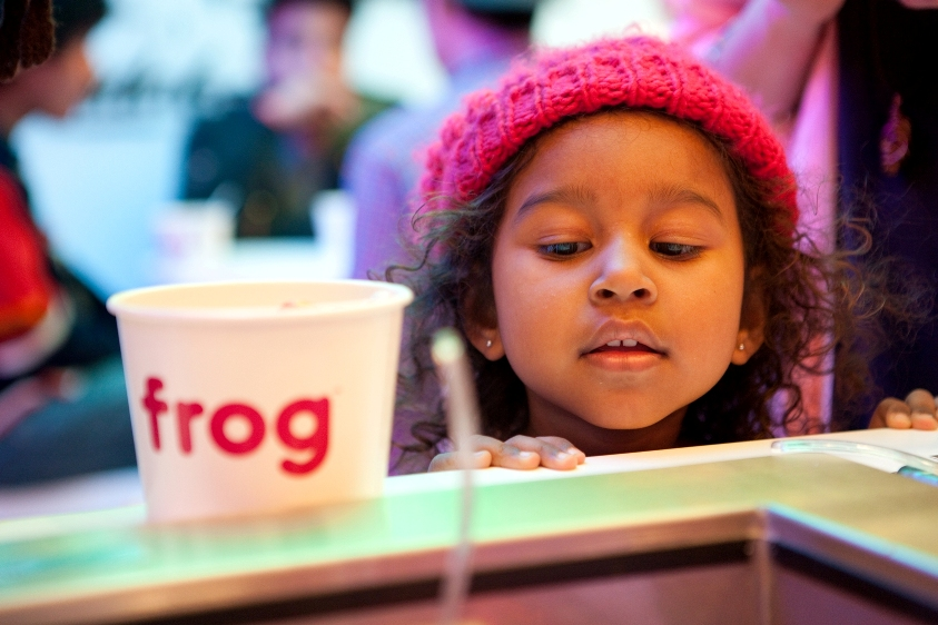 Frog is the Coolest Place You Can Get Frozen Yogurt