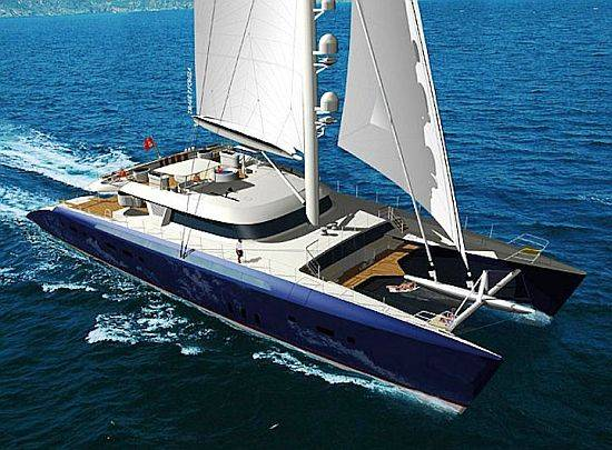 Largest And Most Expensive Catamaran In The World Up For Charter For Charity
