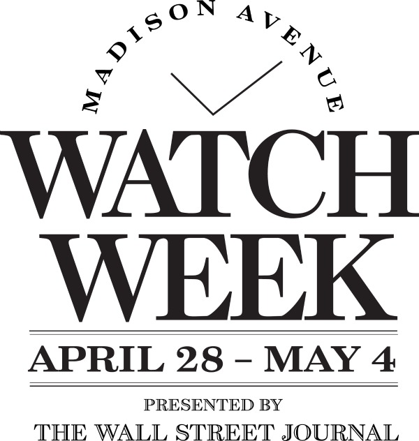 Haute Time: 2nd Annual Madison Avenue Watch Week Kicks Off April 28