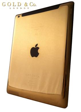 Haute Toys: The World's First Gold iPad 3 Unveiled in Dubai