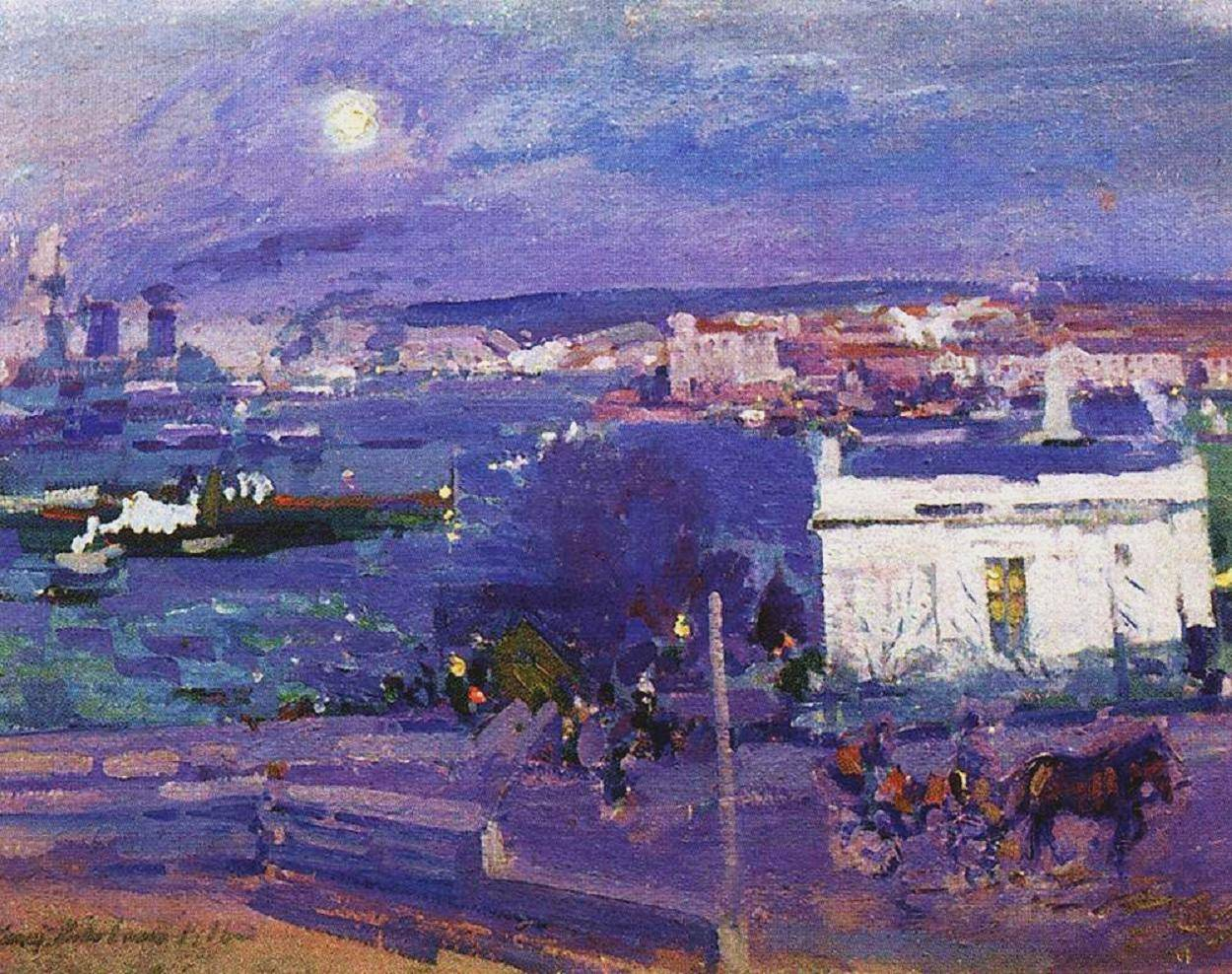 Moscow's Jubilee Exhibition of Korovin at Tretyakov Gallery