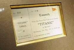 titanic auction
