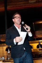 Tyler Florence hosts the live auction